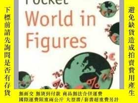 二手書博民逛書店POCKET罕見WORLD IN FIGURESY361738