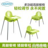 寶貝餐桌椅 兒童小椅子靠背嬰兒餐椅吃飯小孩多功能寶寶餐桌椅兒童椅凳靠背igo  免運 維多