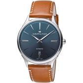 Hamilton漢米爾頓紐約星嵐系列極簡時尚機械腕錶   H38525541