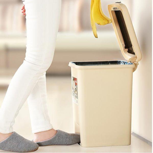 飛達三和垃圾桶家用腳踏式手按衛生間客廳廚房有蓋創意臥室大號桶【星時代家居】