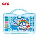 SKB 可水洗24色彩色筆 CW-180 / 盒