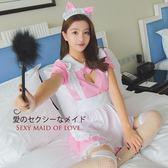 cosplay女傭制服表演服性感夜場和服演出服日系改良圍裙女仆裝
