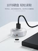 USB擴展器 usb擴展器轉換接頭多口type-c筆記本電腦usb拓展塢多用功能us 伊芙莎