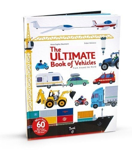 The Ultimate Book Of Vehicles From Around The World 交通工具大百科 翻頁推拉書