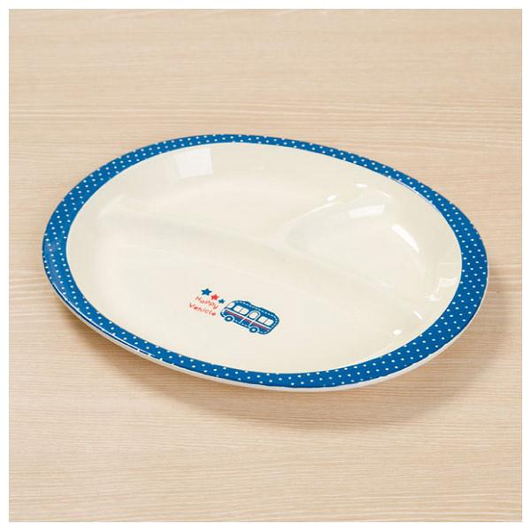 兒童用午餐盤 HAPPY VEHICLE NITORI宜得利家居