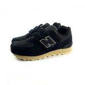 中童 NEW BALANCEKV574VIY 麂皮 復古 慢跑鞋 運動鞋 《7+1童鞋》9349  黑色