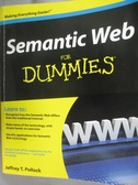 【書寶二手書T6/電腦_WGD】Semantic Web for Dummies_Pollock, Jeffrey T.