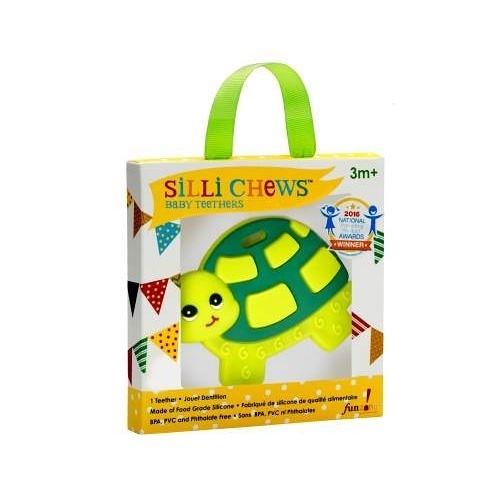 美國 Silli Chews 烏龜咬牙器(固齒器)SC-4[衛立兒生活館]
