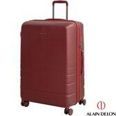 29吋行李箱 29吋硬殼旅行箱 ALAIN DELON 亞蘭德倫皇家霧面 紅色  淘樂思