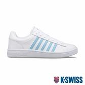 【超取】K-SWISS Court Winston時尚運動鞋-女-白/天空藍