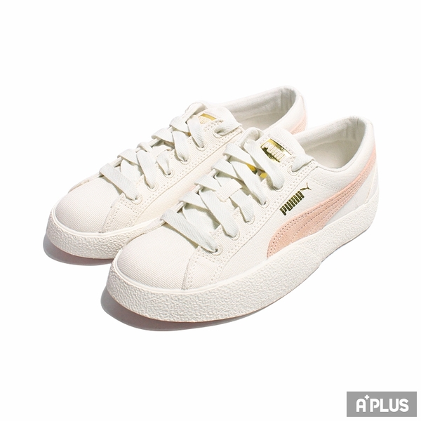 PUMA 女 休閒鞋 LOVE IN BLOOM WN 棉麻布 刺繡 玫瑰 裸色-37506501