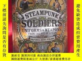 二手書博民逛書店Steampunk罕見Soldiers Uniforms and