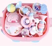 禮盒嬰兒玩具套裝滿月
