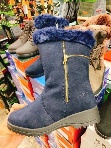 女款防潑水極光款榮耀藍雪靴 雪鞋 SN218