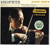 【停看聽音響唱片】【CD】HEIFETZ / SIBELIUS.BEETHOVEN / VIOLIN CONCERTO