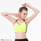 *╮寶琦華Bourdance╭*專業瑜珈韻律芭蕾★雙色運動內衣(內有裡襯 附罩杯)【D16221】