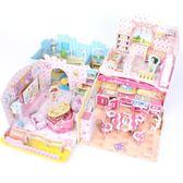 3D立體拼圖兒童玩具男益智DIY紙質別墅臥室3-6-9-10周歲女孩禮物限時八九折