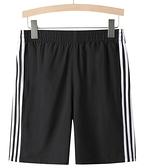 短褲男潮寬鬆休閒薄款跑步五分褲外穿夏季運動速幹5分中褲