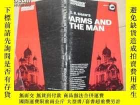 二手書博民逛書店Arms罕見and the Man (Monarch Notes