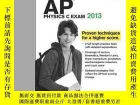 二手書博民逛書店Cracking罕見The Ap Physics C Exam 2013 Edition (college Tes