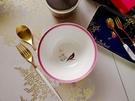 送禮首選 - SARA MILLER切爾斯系列15CM碗(桃粉色)+MIO白金系列點心叉匙