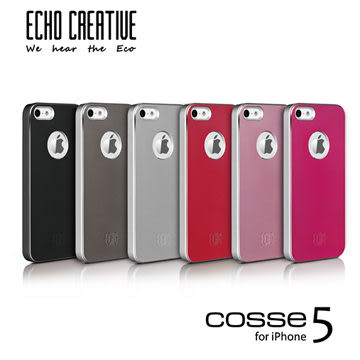 【A Shop】ECHO系列 Cosse x iPhone SE 5S/5 保護殼/背蓋 for iPhone 5/5S專用