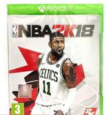 Xbox One 美國職業籃球 NBA 2K18 中文亞版 實體中文版 全新沒拆