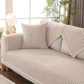 四季棉麻沙發墊布藝防滑坐墊子