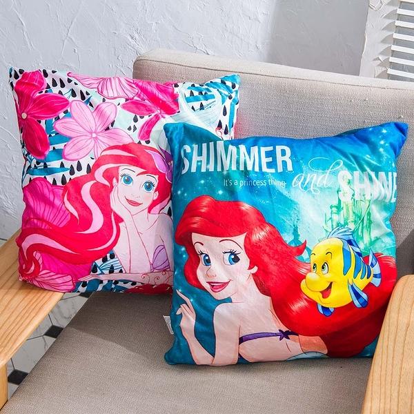 迪士尼公主方型抱枕