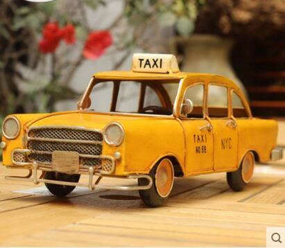 迪寶路復古鐵藝汽車模型擺件車模裝飾品懷舊單片模擬歐式美式鄉村