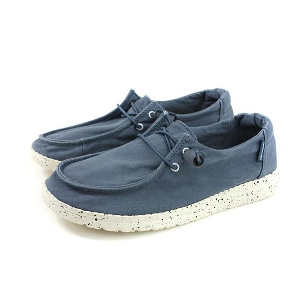 Hey Dude 休閒鞋 帆船鞋 帆布 女鞋 灰藍色 HD2001-805 no008