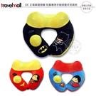 《飛翔無線3C》travelmall DC 正義聯盟授權 兒童專用手動按壓式充氣枕│公司貨│蝙蝠俠 超人