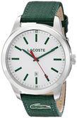 Lacoste 運動家活力時尚腕錶-綠