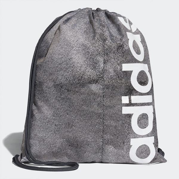 Adidas Sp Gym Sack 束口袋 灰 後背包 愛迪達 運動健身包 束帶 旅行 大學包 游泳 CF4166