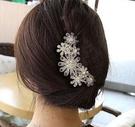 新娘漢服發飾蝴蝶結頭飾