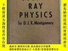 二手書博民逛書店cosmic罕見ray physics(H1433)Y17341