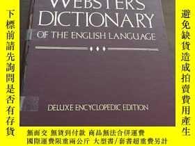 二手書博民逛書店THE罕見NEW LEXICON WEBSTER S DICTIONARY OF THE ENGLISH LANG