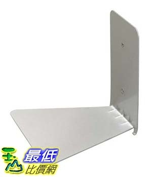 [106美國直購] Umbra 330638 560 隱形書架 小 Conceal Wall Book Shelf Small Silver