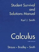 二手書博民逛書店 《Calculus: Student Survival and Solutions Manual》 R2Y ISBN:0130672459│Prentice Hall