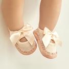 嬰兒學步鞋 新生兒鞋襪嬰兒夏季襪軟底學步不掉鞋手工男女寶寶鞋子0-1歲春秋 歐歐