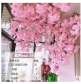 桃花樹 櫻花樹仿真室內裝飾大型網紅墻桃花婚慶假藤條店鋪家居空調管吊頂 8號店WJ