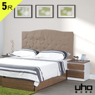 床頭片【UHO】喬麗亞5尺雙人床頭片 免運費 HO18-469