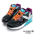 PLAYBOY  舒適氣墊 高筒-休閒鞋...