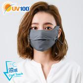 UV100 防曬 抗UV-涼感護眼角呼吸口罩