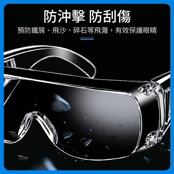 《防疫必備!可配戴眼鏡》 防護眼鏡 護目鏡 防護眼罩 防疫眼鏡 透明護目鏡 防塵護目鏡 眼鏡