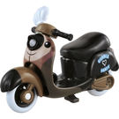 TOMICA多美迪士尼小汽車 Chim Chim海獺摩托車 Disney motors
