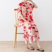 洋裝-長款寬版春夏時尚優雅氣質女連身裙73sm43[巴黎精品]