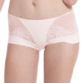 LADY 涼感纖體美型系列 機能調整型 中腰平口褲(珊瑚橘)