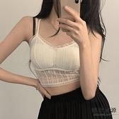 蕾絲小吊帶背心裹胸性感內搭外穿防走光打底衫女美背上衣【毒家貨源】