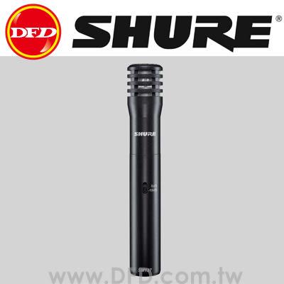 美國 舒爾 SHURE SM137-LC 專業樂器電容麥克風 公司貨 上方高帽鈸,弦樂器,合唱組,鋼琴,銅管樂器